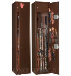 Металлический шкаф для хранения оружия Охотник-61