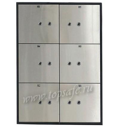 Блок депозитных ячеек Valberg DB-6S DGL