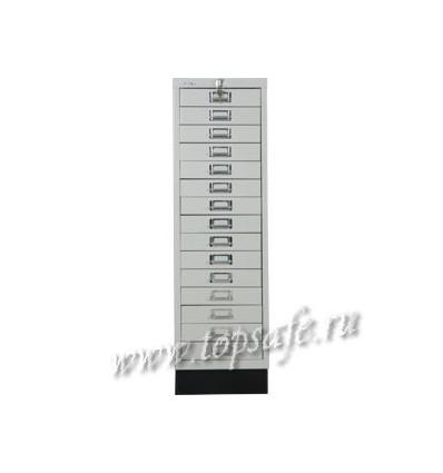 Шкаф многоящичный Bisley 39/15L (PC 091)
