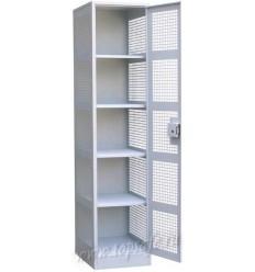 Шкаф для хранения денег Новатор 1-но створчаттый с 4-мя полками
