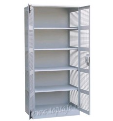 Шкаф для хранения денег Новатор 2-х створчатый с 4-мя полками