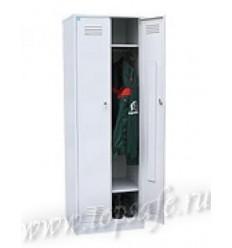 Шкаф для одежды 2-х створчатый с полкой под обувь Rommel 800