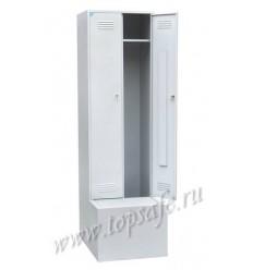 Шкаф для одежды 2-х створчатый с дополнительным ящиком Rommel