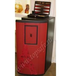 Сейф Fichet Carena 160 exclusive red