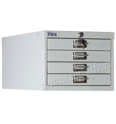Шкаф многоящичный Практик MDC-A3/650/4