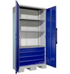 Тяжелый инструментальный шкаф Практик AMH TC-003040