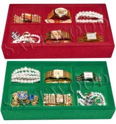 Лотки Safewood Открытые для хранения часов и ювелирных изделий